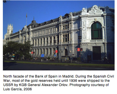 Bank of Spain in Madrid