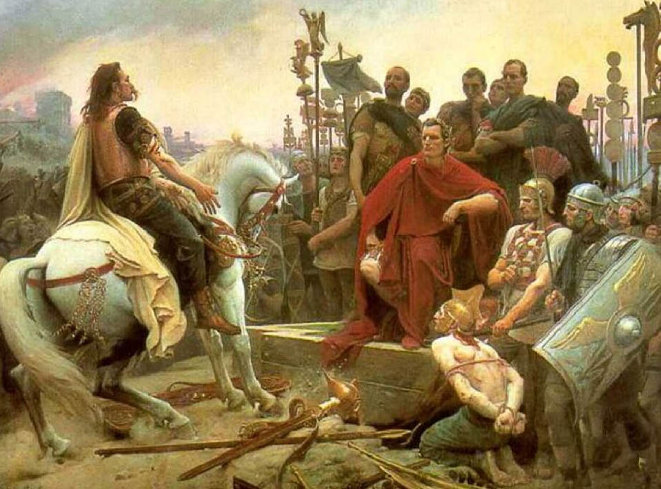 Caesar and Vercingetorix