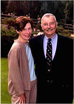 Dr. James C. Fries and his wife Sarah.