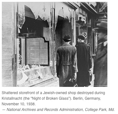 Jewish businesses after Kristallnacht