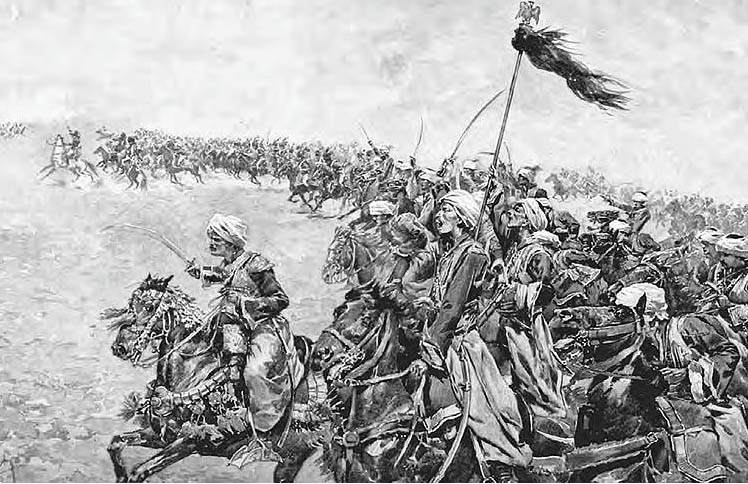 Mamlukes at the Battle of the Pyramids