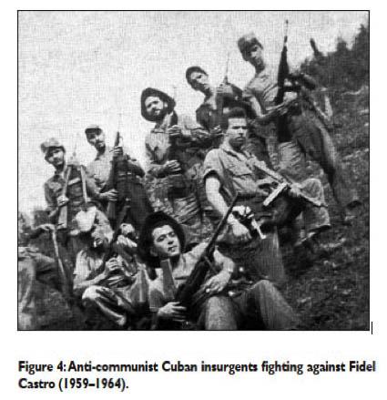Anti-communist Cuban insurgents