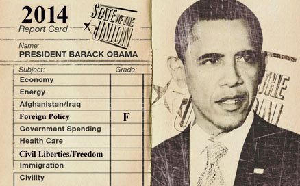 Obama's Report Card 2014