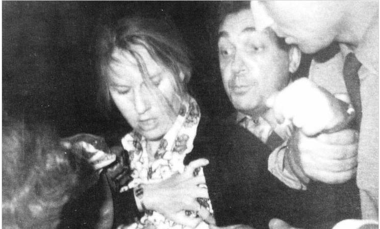 Martha D. Peterson's arrest in Moscow in 1977