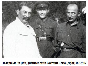 Image result for beria and stalin soviet