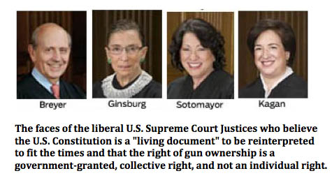 Liberal U.S. Supreme Court Justices