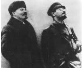 Lenin and Trotsky