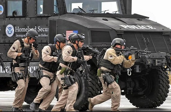 Militarization of the police