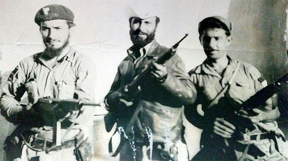 My uncle Julio Martinez during Cuban Revolution