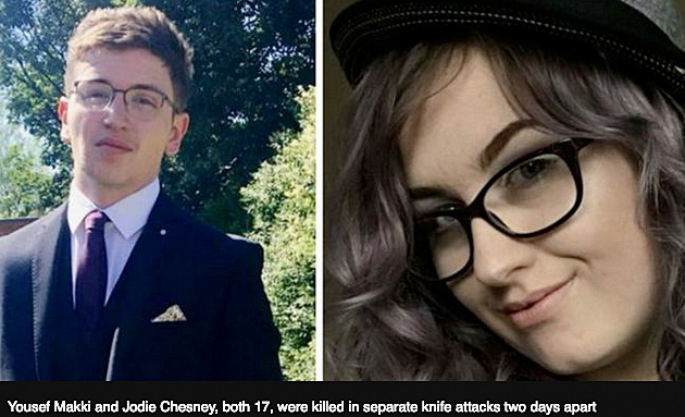 Great Britian knife attack victims