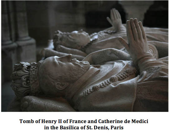 Tomb of Henry II of France and Catherine de Medici